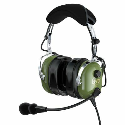 FARO G2-PNR Premium Pilot Aviation Headset with Mp3 Input. Perfect condition!