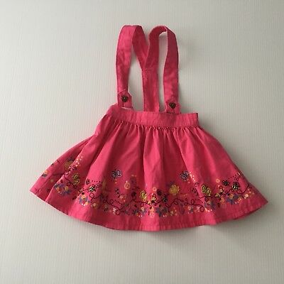 TU Pink Skirt With Braces Age 12-18 Months