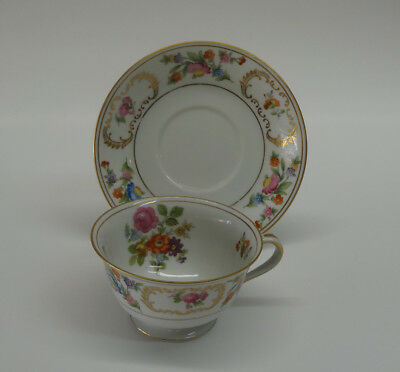 Noritake China Dresalda #4727 Cup and Saucer