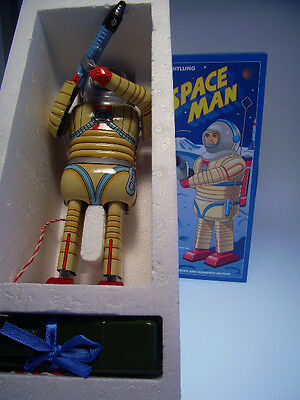 "GSR ROBOT ""SPACE MAN""  SCHYLLING USA ,23cm, BO, NEU/ NEW / NEUF IN BOX !"
