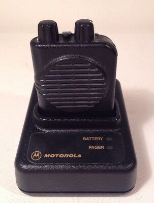 Motorola Minitor IV 4 Pager VHF High Band 151-159 MHz, NSV, 2-channel