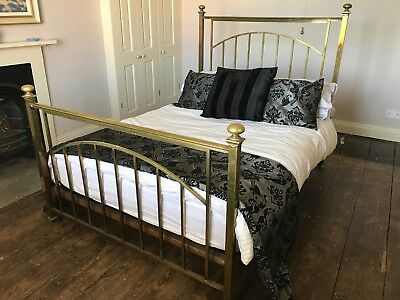 Beautiful Antique Brass French Double Bed Frame