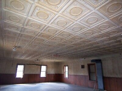 Antique Tin Ceiling and Wall Panels - Over 2,000 Square Ft!
