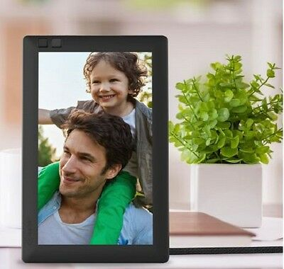 Digital Photo Frame 7 inch Black Picture Wireless Compatible Hi-Res WiFi