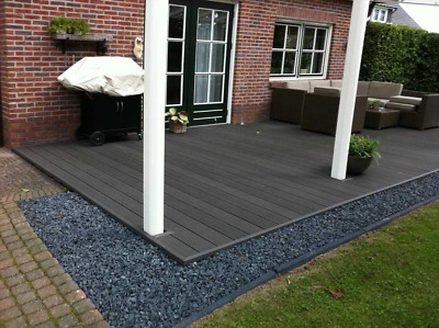 Composite Decking Boards  - CHARCOAL GREY @ £8.95 per 2.2m   -  BEST VALUE IN UK