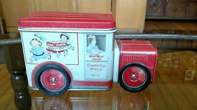 Campbell Soup Delivery Truck Tin 1994