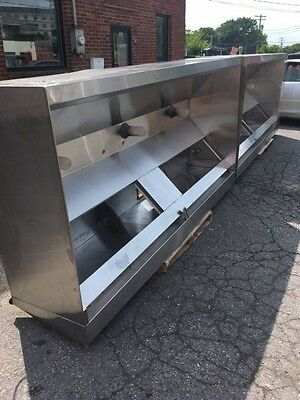 19 foot Commercial Kitchen hood -NFPA #96