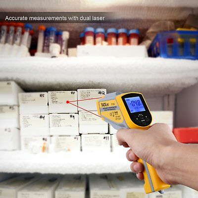 Professional Infrared Laser Distance Thermometer -58℉1022℉ Tacklife IT-T05