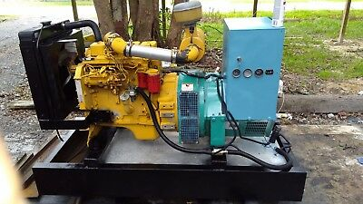 ONAN  40KW  GEN SET CUMMINS DIESEL STANDBY GENERATOR WITH 50gallon FUEL TANK
