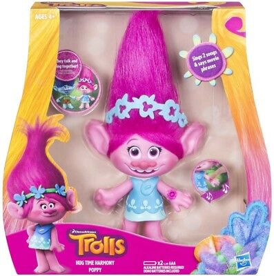 Official Trolls Medium Music Feature Doll (Poppy)