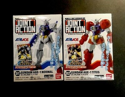 GUNDAM Joint Action, 2 Packs, Age 1 Normal & Titus, BANDAI imported from JAPAN