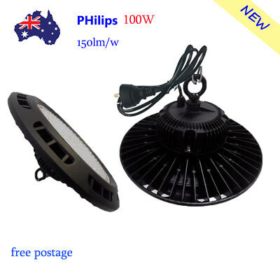 100W D UFO LED High Bay Light Warehouse Industrial Factory Commercial Shed Lamp