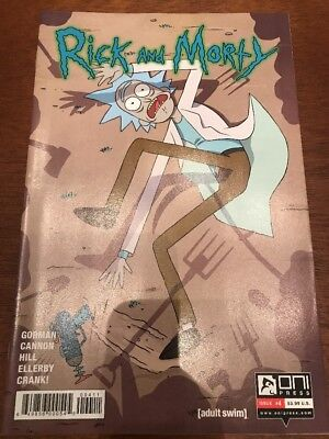 RICK AND MORTY #4 (2015) NM First 1st Print A Cover