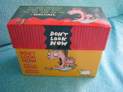 Paul Jennings Don't Look Now New & Sealed Book Series 1 To 4 Secret Fly Magician