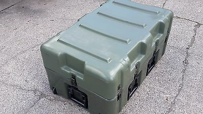 "Military Hard Shipping Case, 33"" x 12"" x 17"""