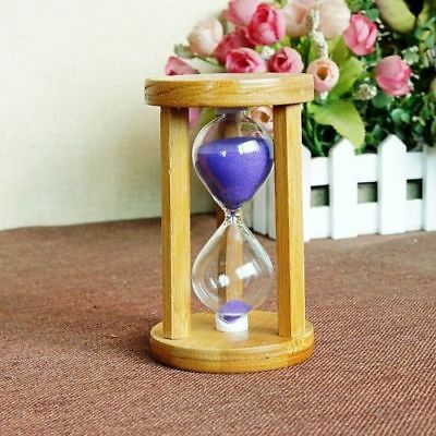 Exquisite Creative Round Wooden Hourglass 40820