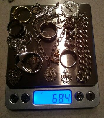 ☆☆ 68.4 Grams Assorted Silver Items ☆☆