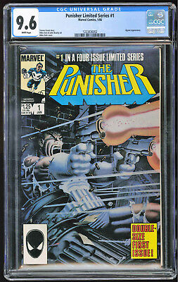 Punisher Limited Series #1 CGC 9.6 WP