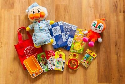 Anpanman set of collectables! From Anpanman Museum in Japan. New/Good condition!