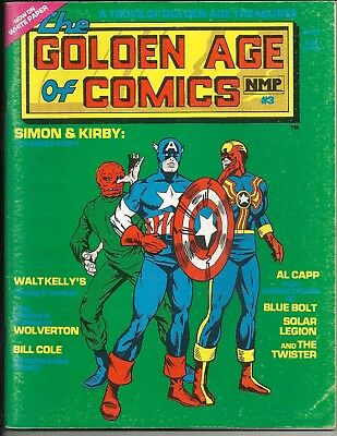 Comics the Golden Age Goulart fanzine DC Timely history 7 issues Kirby Batman CA