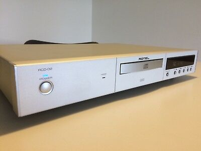 Rotel Rcd-02 Cd Player - Mint Condition