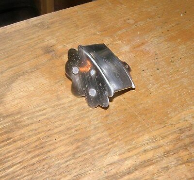 50s STYLE MANDOLIN TAILPIECE / FROM GIBSON / FUNCTIONAL BUT ALTERED / 3 SCREWS