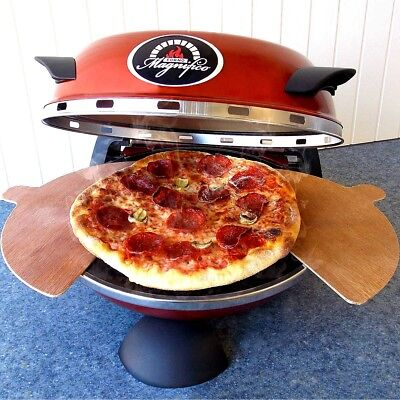Forno Magnifico Electric 12 Inch Kitchen Countertop Pizza Oven w Ceramic Stone