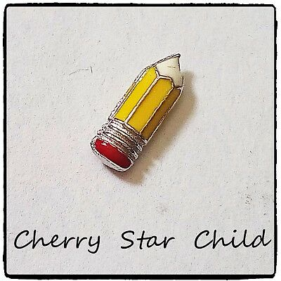 Floating Charm for living memories locket origami pencil