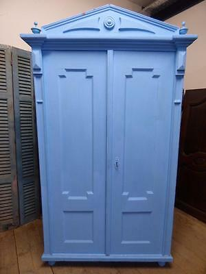 OLD FRENCH ARMOIRE - CUPBOARD - WARDROBE -  - ca95