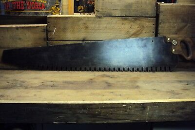 Disston 36 Inch Cross Cut Saw Lumberjack Saw Old Tool