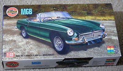 AIRFIX 1/32 scale MGB plastic model kit (37)