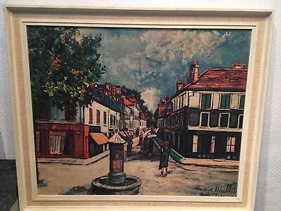 MAURICE UTRILLO tout 1923 Rue