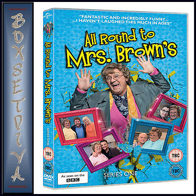 Mrs Browns Boys - All Round To Mrs Brown's Complete Series 1 **Brand New Dvd**