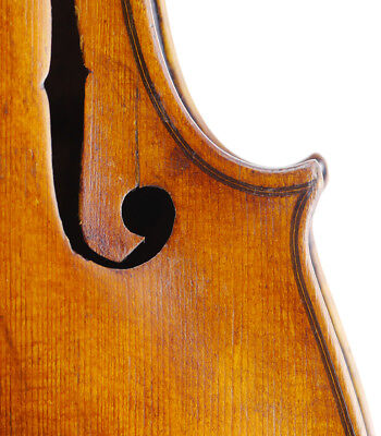 Rare, antique Virgilio Balestreri Italian labeled old 4/4 master violin - fiddle