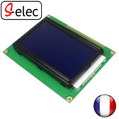5045# 128*64 Dots LCD Module 5V blue Screen 12864 LCD with Backlight ST7920