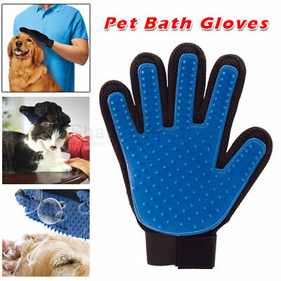 Pet Puppy Brush Magic Glove  Cleaning  Dog Cat Hair Removal Groomer Soft touch