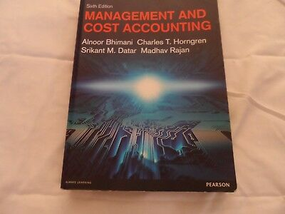 Management and Cost Accounting by Alnoor Bhimani, Charles T. Horngren,...