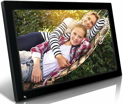 18.5-Inch WiFi Cloud Digital Photo Picture Frame HD Video Playback LED Backlit
