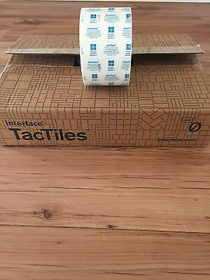 tactiles by interface full roll 500 pieces