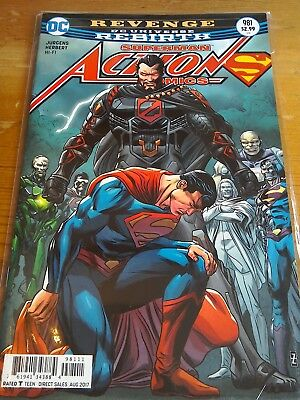 DC COMICS ACTION COMICS #981 JULY 2017 SUPERMAN REBIRTH 1ST PRINT NM (Bagged)