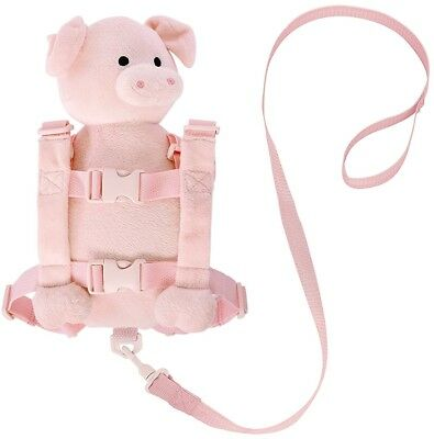 Goldbug Animal 2 in 1 Harness Pig Kids Children Toddler Girl Outdoor Safety Gift