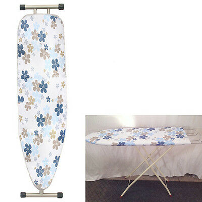 45cm*124cm Household Cotton Printed Ironing Board Cover Blue Flower