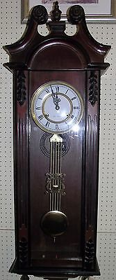 """ Mahogany Long Case Vienna "" German Movement"
