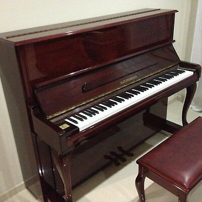 Alex Steinbach upright piano JS 121F with stool