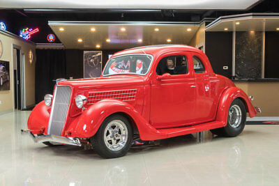 """1935 Ford 5-Window  teel Body 5-Window Coupe! 468ci V8, TH350 Automatic, 4-Wheel Disc, Ford 9"""" Posi"""