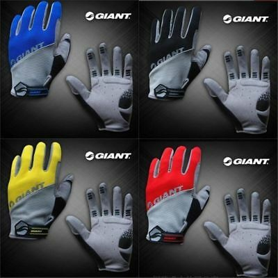 TOUCH SCREEN GIANT Cycling Gloves Cycle Cold Winter Bicycle Bike Full Finger off