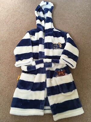 Gruffalo Dressing Gown 18-24 Months M&S Striped