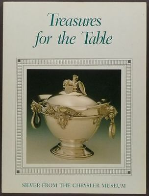 Antique Silver for the Dining Table & Serving Pieces -A Chrysler Museum Catalog