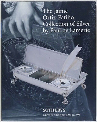 Paul de Lamerie English Silver in Ortiz-Patino Collection - Sotheby's 1998