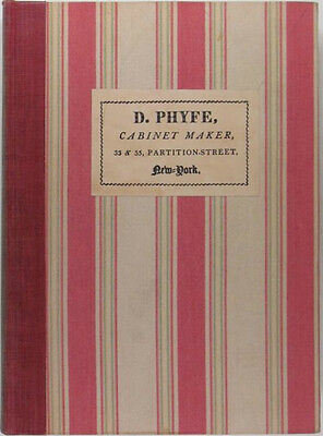 Duncan Phyfe Furniture Antique New York Federal Cabinetmaker 1939 Ltd. Edition